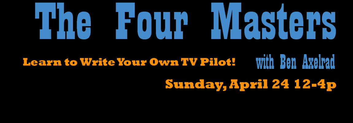 Learn to Write Your Own TV Pilot!